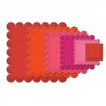 Nestabilities - Classic scalloped Squares Large