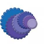 Classic Scalloped Circles Small