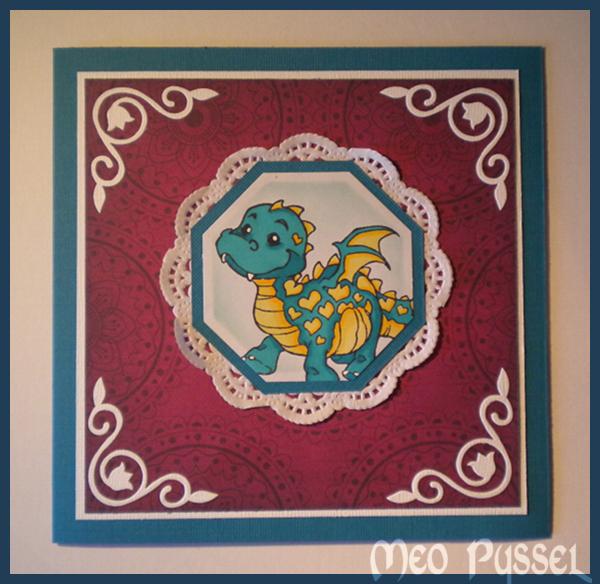 Färgglad drake Image