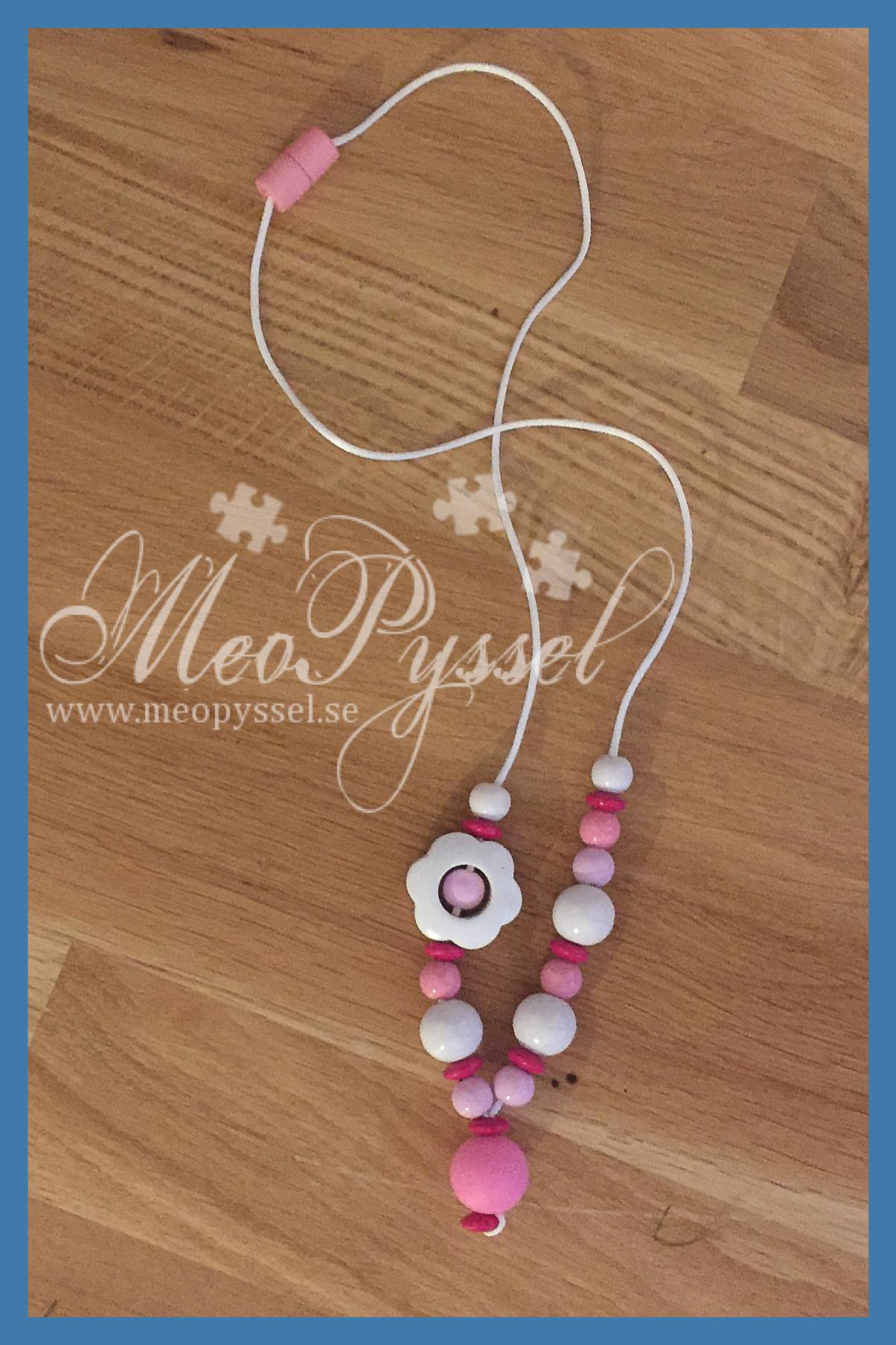 Amningshalsband i rosa Image